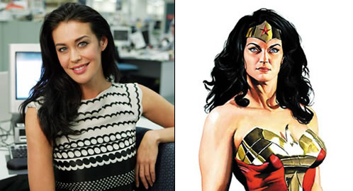 ¿Otra nueva posible Wonder Woman?